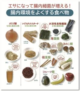腸内環境をよくする食べ物