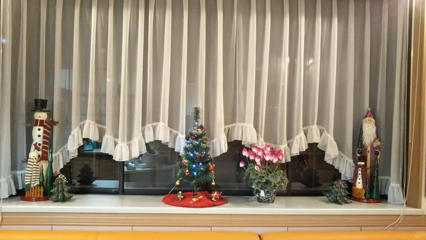 みのり歯科クリスマス飾り
